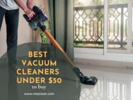 Best Vacuum Cleaners Under