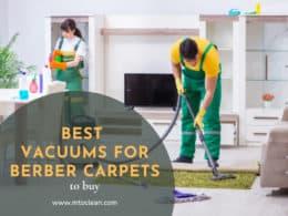 Best Vacuums for Berber Carpets