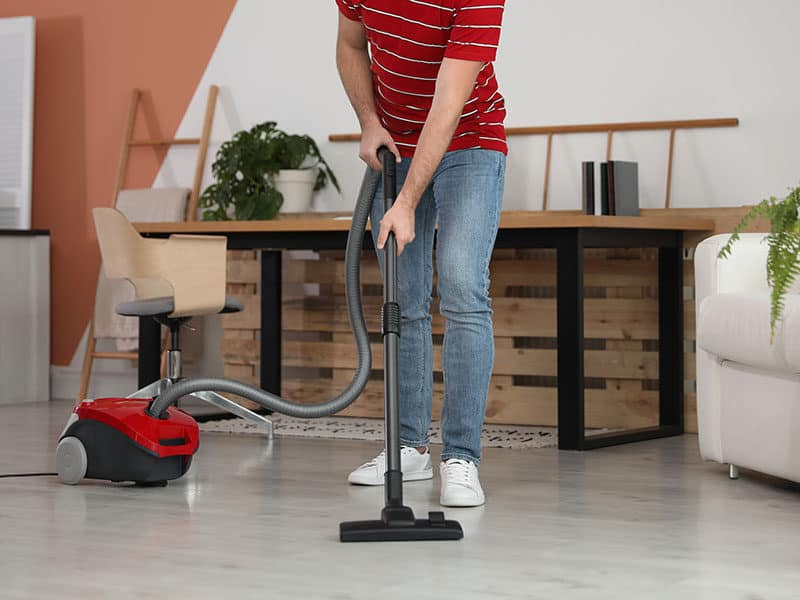 Canister Vacuum for Hardwood Floor