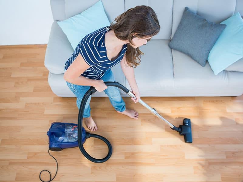 Canister Vacuum for Hardwood Floors