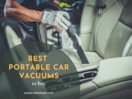 Best Portable Car Vacuums