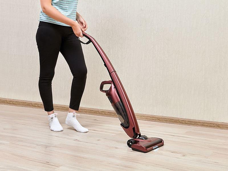 Self-Propelled Vacuum
