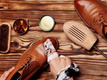 Shoe Polish Stain