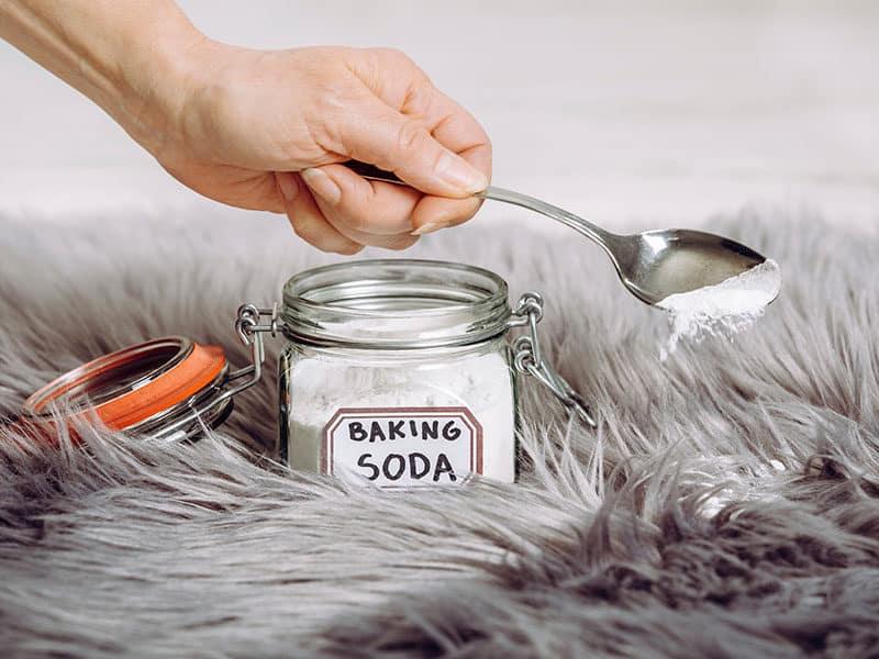 Baking Soda Sodium Clean Carpet