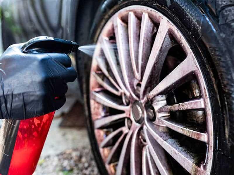 Aluminum Wheels Wash