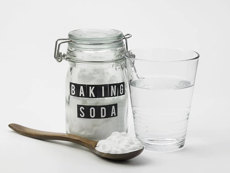 Baking Soda Glass