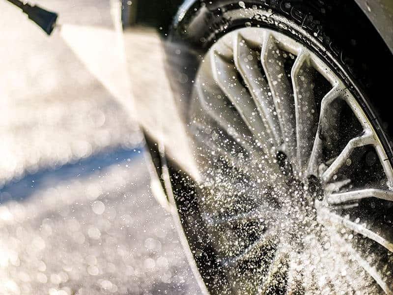 Car Wheel Washing