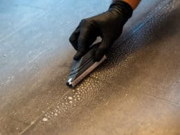 Cleaning Grout Brush