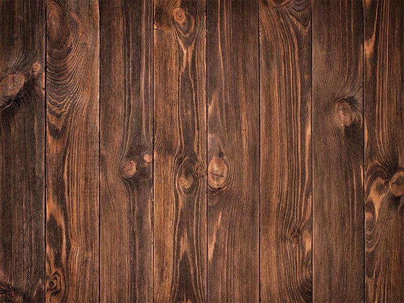 Dark Stained Wooden