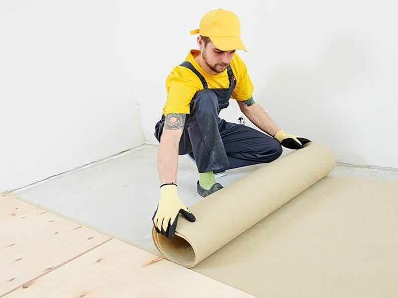 Flooring Work Underlayer