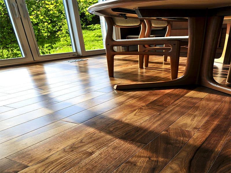 Hardwood Walnut Floor Residential