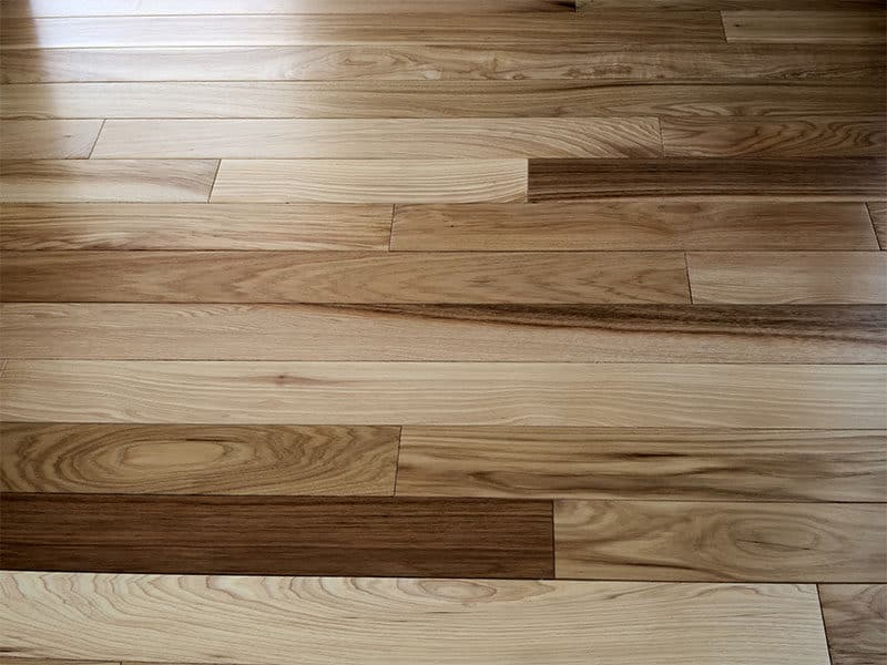Hickory Wood Natural Floor