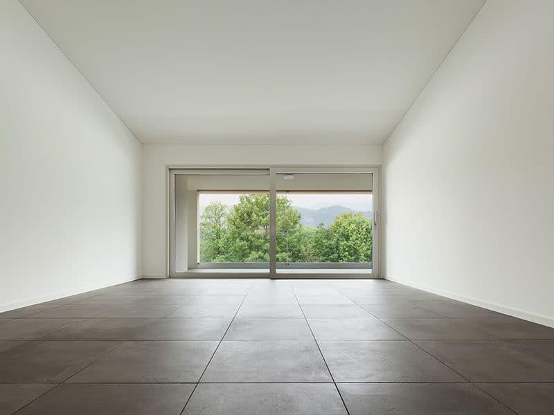Sealed Concrete Floor