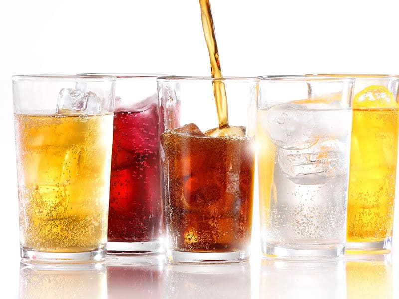 Soft Drinks Ice