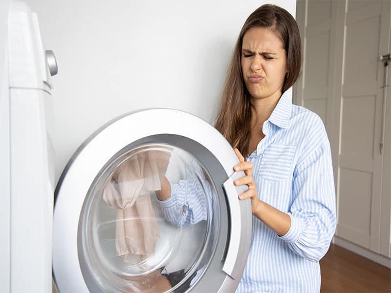 Stinking Laundry Machine