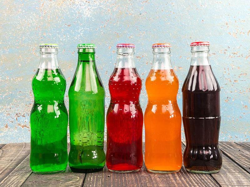 Variety Soda Bottle