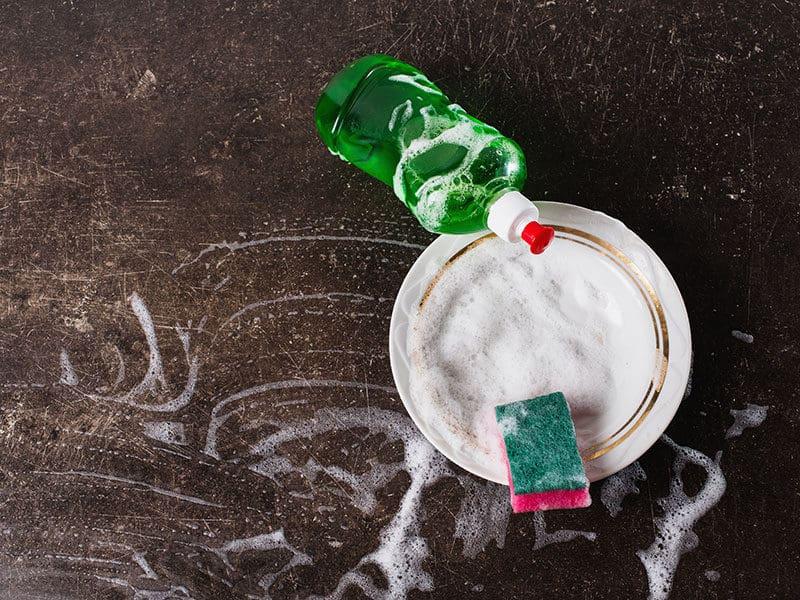White Dish Detergent