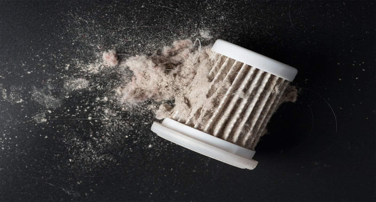 Closeup Common Dust Hepa