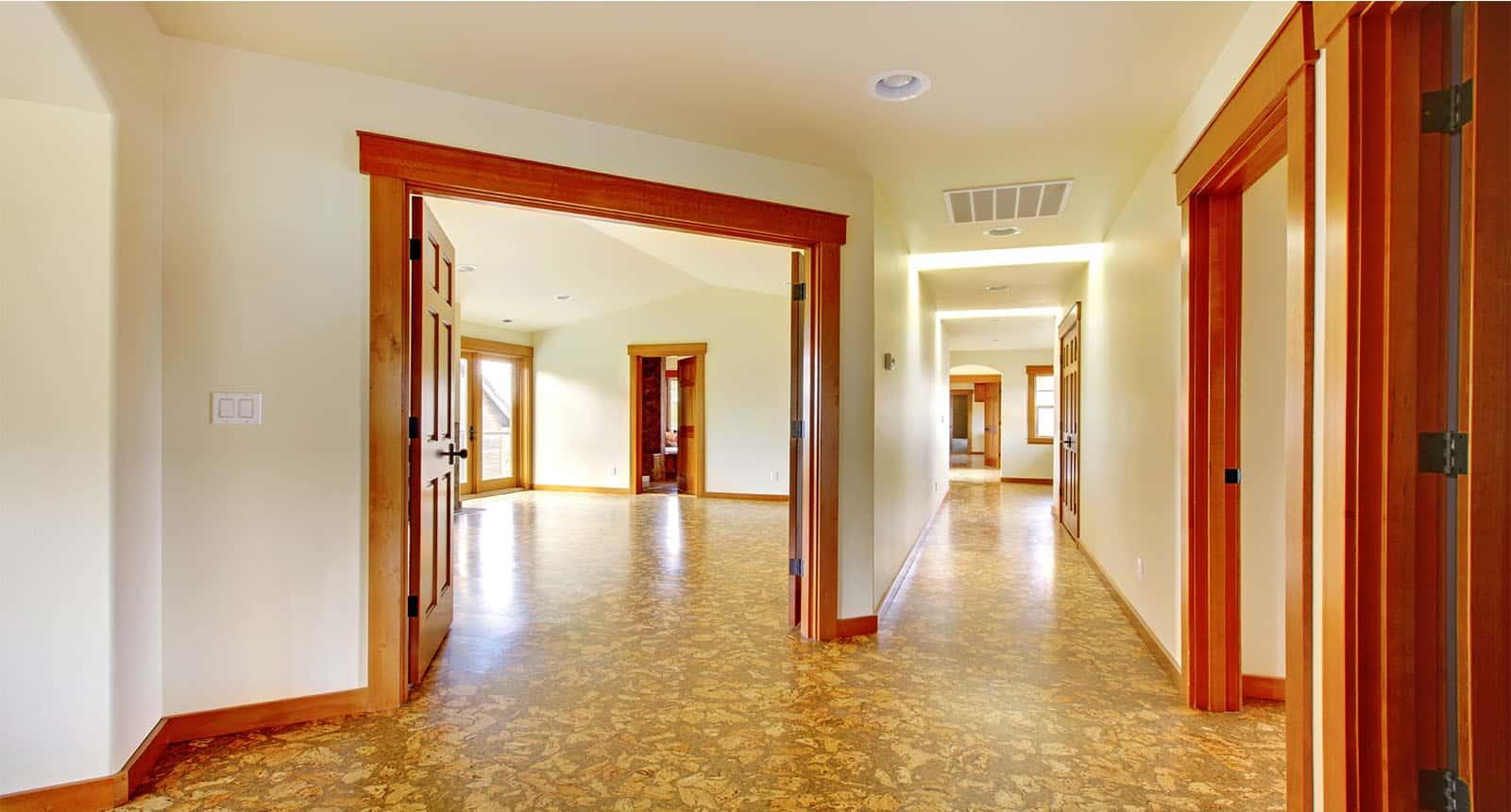 Large Hallway Empty House